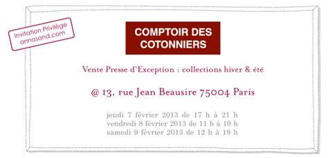 Ventes Privees Comptoir Des Cotonniers by Vente Priv 233 E Comptoir Des Cotonniers Chez Ad 232 Le Sand