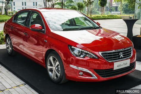 Peugeot In Malaysia Peugeot 408 E Thp Launched In Malaysia Rm144k Image 501609