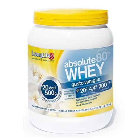 Absolute Whey Longlife Sito Ufficiale