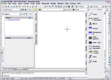 autocad classic 2007 tutorial pdf tutorial create a custom workspace in autocad 2006 and