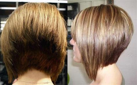 long stacked bob haircut pictures of the back 15 ideas of stacked bob hairstyles back view