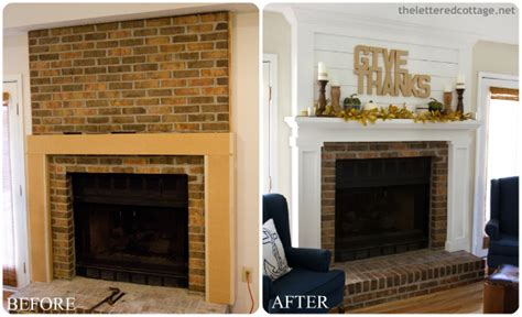 Update Fireplace Surround by Diy Fireplace Makeovers Faux Mantels Shelves