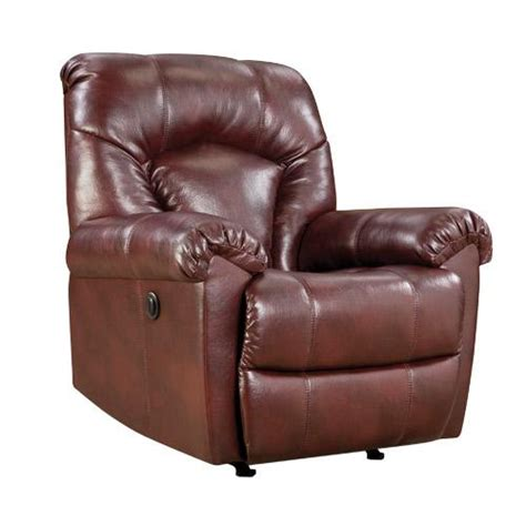 simmons power recliner simmons bm210p jeter power recliner wine 1 8 density