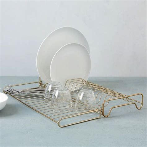 Wire Dish Rack by Wire Kitchen Collection Foldable Dish Rack