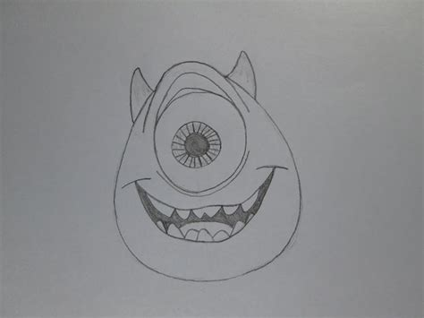 imagenes de monstruos faciles para dibujar c 243 mo dibujar mike wazowski de monsters inc youtube
