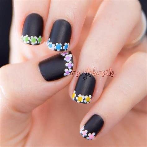 imágenes de uñas negras decoradas dise 241 os de u 241 as con gelish decoradas elegantes