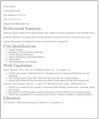 Resume Summary Statement No Experience Eye Grabbing No Experience Resumes Sles Livecareer