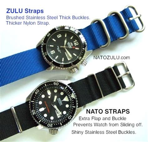 20mm Rubber Tali Karet Jam Tangan Seiko Orient Dll Universal 1 nato and zulu difference watches i