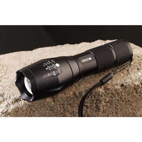 le torche la plus puissante au monde puissante le torche led cree xm l t6 2000lm 5 modes zoom waterproof 2 batteries 18650 1
