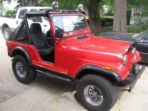79 Jeep Cj5 Purchase Used 79 Jeep Cj5 Silver Anniversary Edition