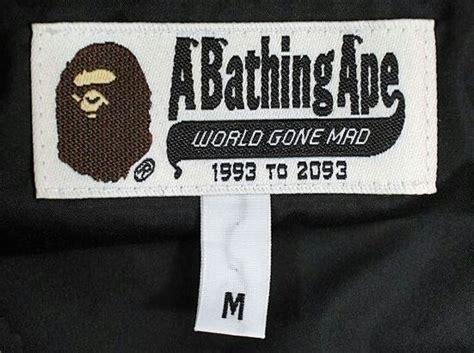 Jual Bathing Ape Bape Tshirt 1 Like Authentic 1 how to legit check a bape hoodie streetwear fashion amino
