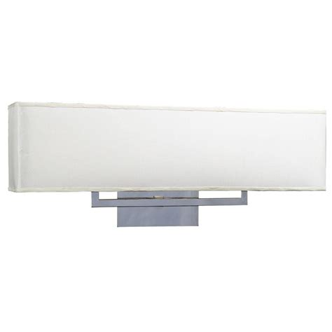 Bathroom Vanity Light Shades Plc Lighting 3 Light Polished Chrome Bath Vanity Light With White Fabric Shade Cli Hd18198pc