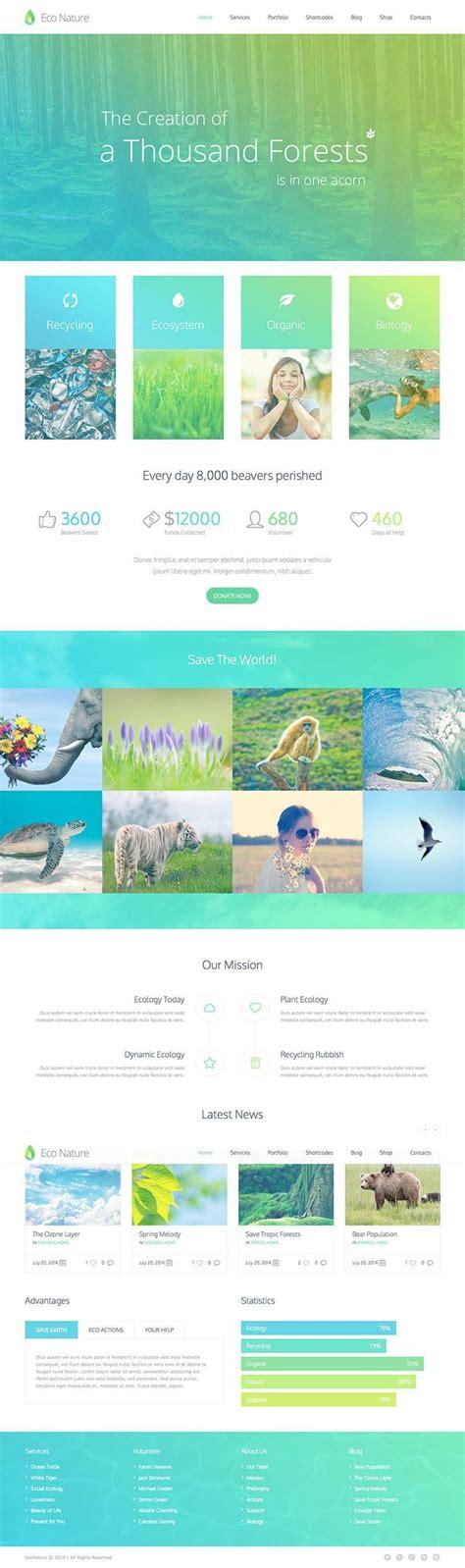 themes wordpress nature eco nature ecology conservation wordpress theme wpexplorer