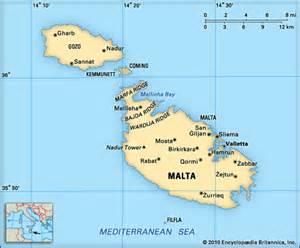 Where is malta located on a map click for details malta gozo malta g