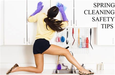 spring cleaning tips spring cleaning safety tips prevent back pain and