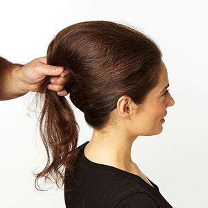french roll updo steps how to do a french twist more com