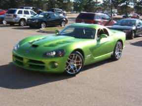 Dodge Viper Green Car Model Dodge Viper Srt10