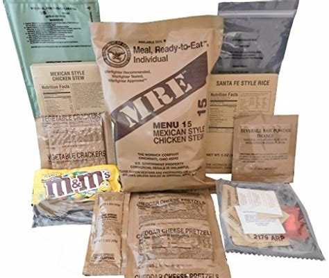 Shelf Of Mre Meals by Mres Meals Ready To Eat Genuine U S Surplus 1