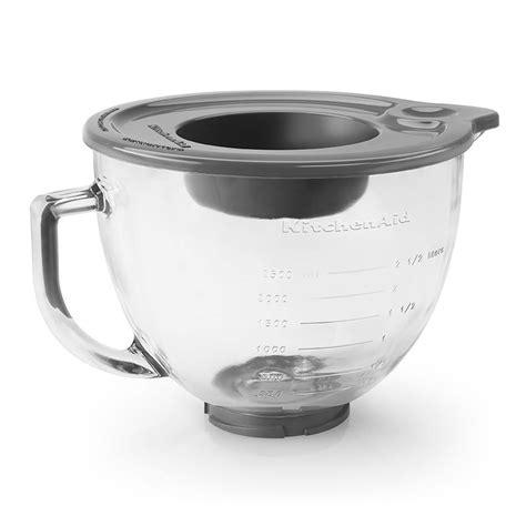 KitchenAid K5GB Glass Bowl w/ Measurement Markings & Lid