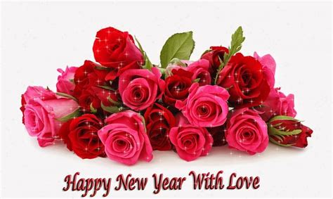 new year wishes with rose flowers happy new year wishes quotes messages images greetings wallpapers whats app status