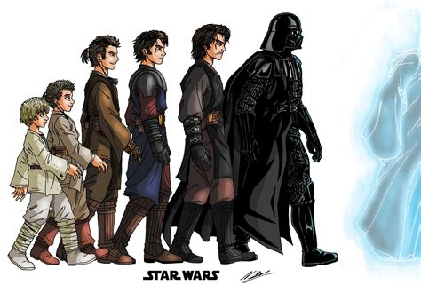 wars skywalker family tree triton world