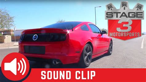 2014 mustang exhaust sounds 2011 2014 mustang 5 0l gt afe catback exhaust sound clip