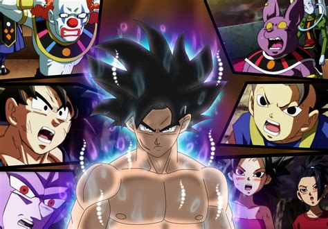 universe 6 belmond and goku react to ui orion by