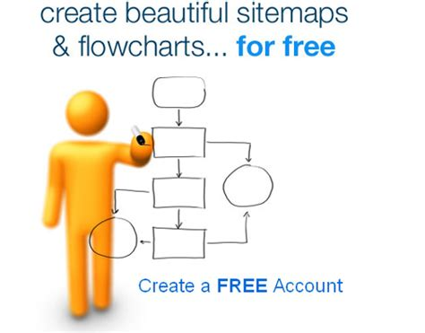 create beautiful sitemaps now create beautiful sitemaps and flowcharts for free with