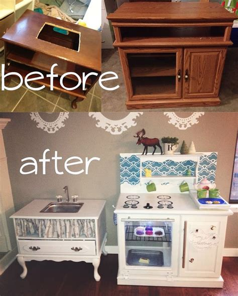 Kids Kitchen Furniture by 25 Unique Diy Play Kitchen Ideas On Pinterest Diy Kids