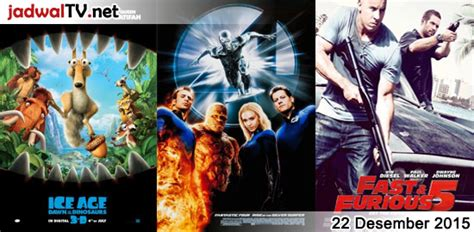 jadwal film frozen desember 2015 jadwal film dan sepakbola 22 desember 2015 jadwal tv
