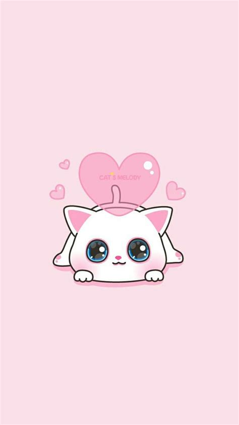 wallpaper pink cartoon cute wallpaper cute pink cat wallpaper images