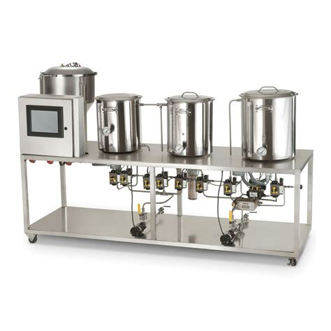automated professional microbrewery the green