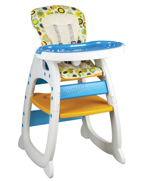 3 in 1 table and chairs foxhunter baby highchair infant high feeding seat 3in1