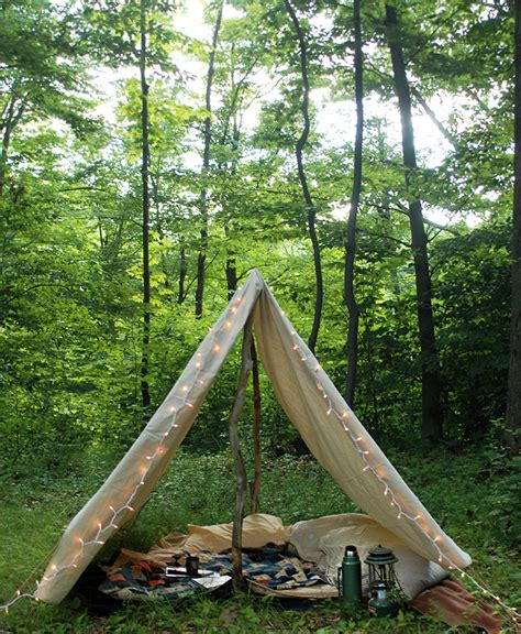 backyard teepee tent diy canvas tent 187 the merrythought