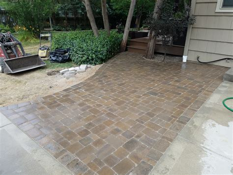 Paver Patio Drainage Dublin Cobble Paver Patio Kansas City Complete Hardscapes Kansas City Paver Patios