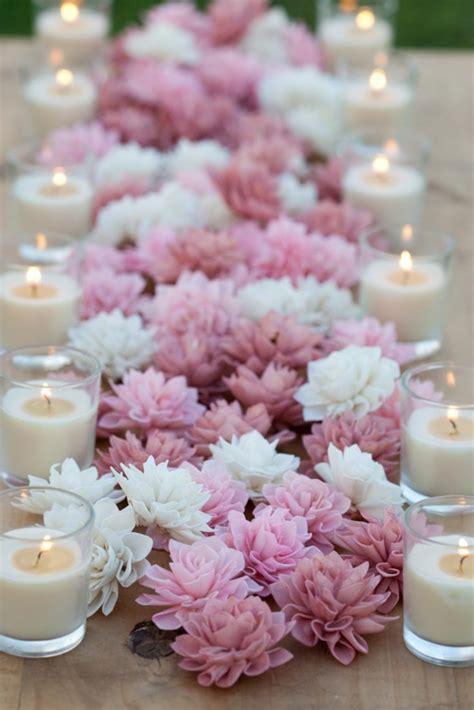 Hochzeitsdeko Blumen by Hochzeitskerzen Romantische Warme Licht