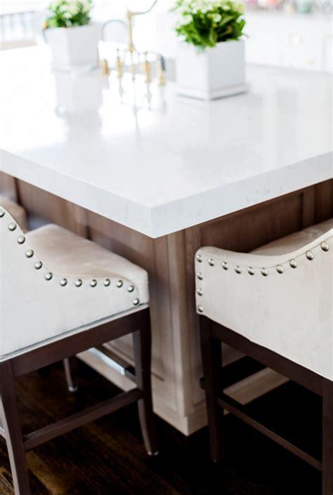 Quartz Countertop Thickness by White Kitchen With Cambria Quartz Countertop Home Bunch