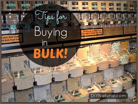 order in bulk buying in bulk tips and ways to save money