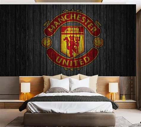 Jam Dinding Bulat Motif Manchester United manchester united wallpaper for bedroom memsaheb net
