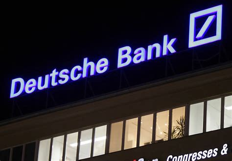deutsche bank presse deutsche bank pourrait renoncer 224 scinder postbank presse