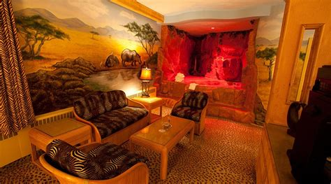 luxury african theme room