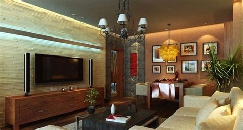 Living room design TV unit
