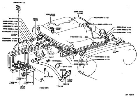 1994 toyota 4runner engine diagram 93 toyota vacuum diagram 93 free engine image for