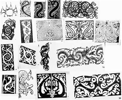 tato simbol dayak iban motif sarawak google search borneo sarawak