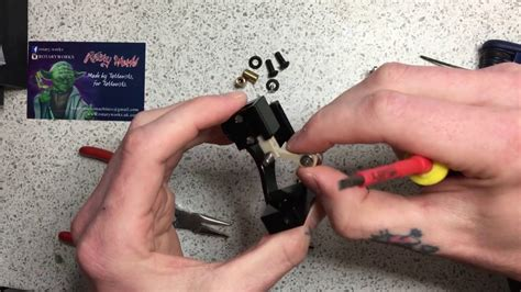 tattoo machine not working how to fix your id liner rotary works tattoo machine youtube