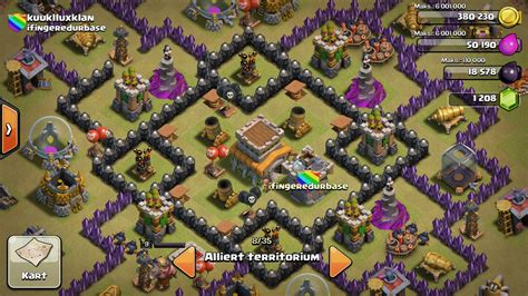 Unstoppable War Town Hall 8 Base | unstoppable town hall 8 war base youtube