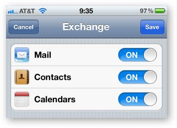 Calendar Sync Exchange How To Sync Your Shared Calendars With Your Iphone