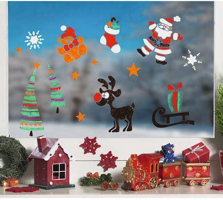Kinderzimmer Weihnachtlich Gestalten by Adventsfenster Und Fensterbilder Zu Weihnachten Gestalten