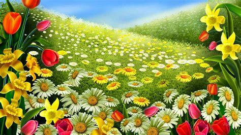 aneka wallpaper bunga tulip  cantik gambar pemandangan