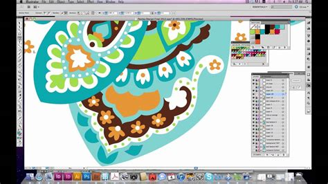 adobe illustrator paisley pattern how to create a pattern in illustrator paisley youtube